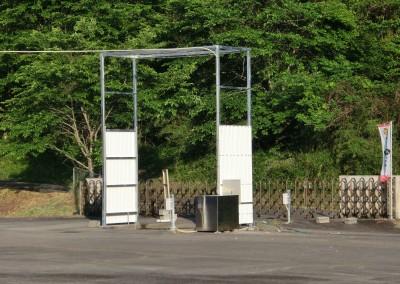 消毒ゲート 2