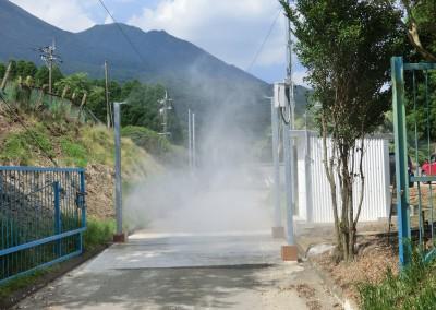 消毒ゲート 4